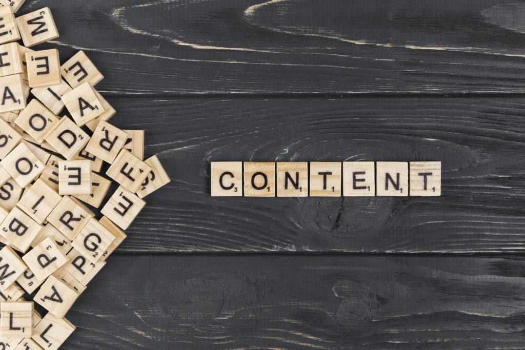 Lo importante es el contenido
