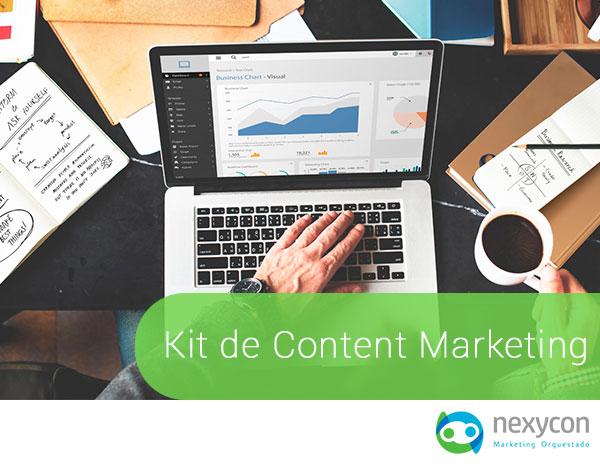 Kit de Content Marketing (Ebook + plantilla)