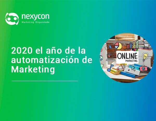 2020 el año de la automatización de Marketing